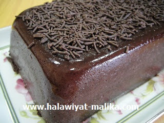 Flan au chocolat فلان بالشوكلاته