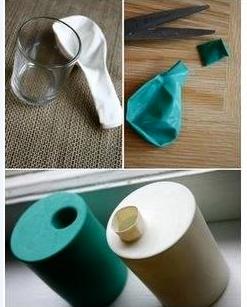 Balon ve Bardakla Vazo Yapımı