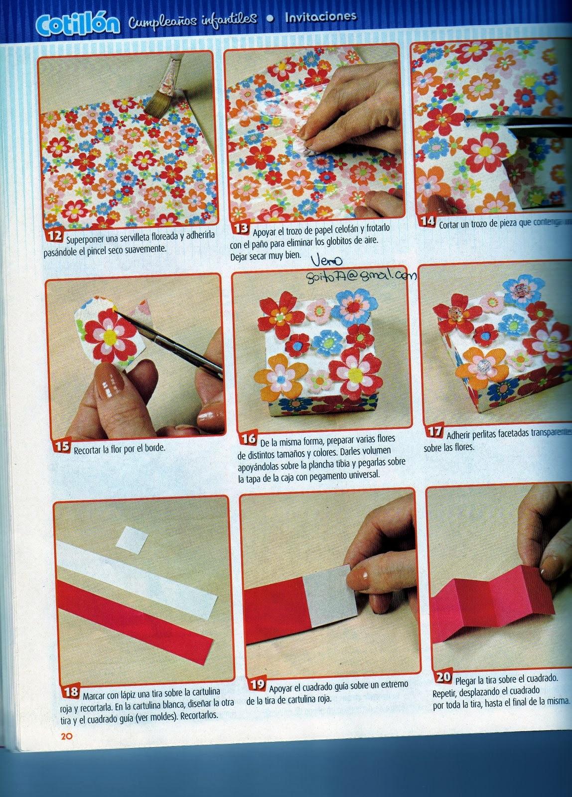 Decoraci n en foamy para fiestas infantiles revistas de for Revistas de decoracion gratis