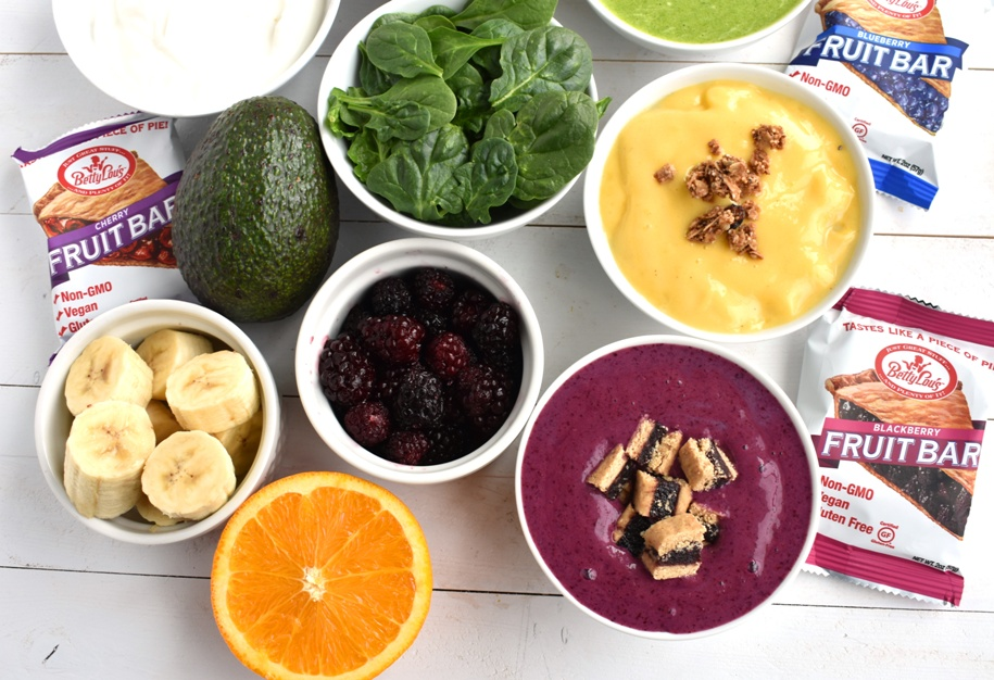 Make Your Own Smoothie Bowls