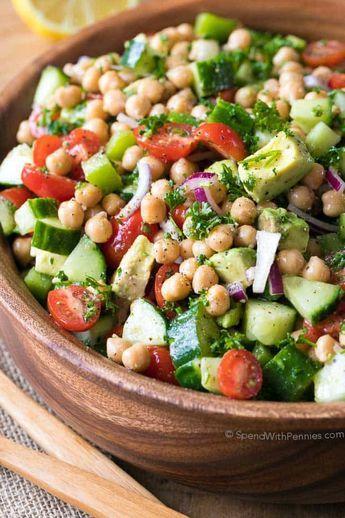 Cíckpea Salad