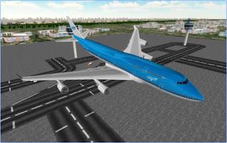 تحميل لعبة محاكاة الطيران قيادة الطائرة للاندرويد