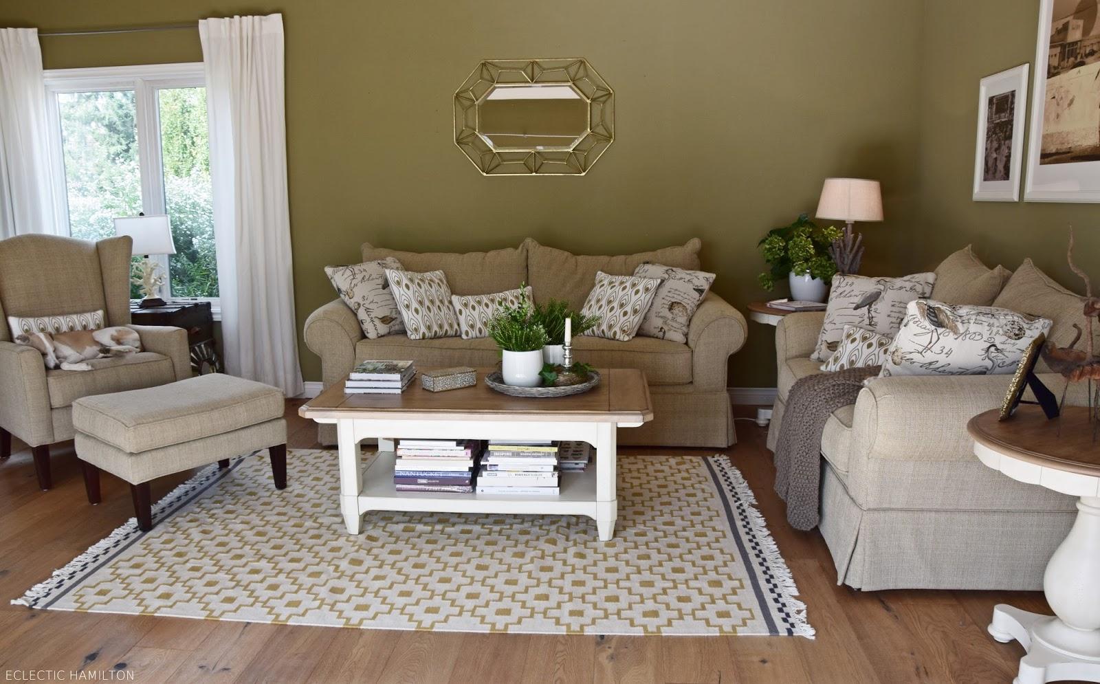 Mein Wohnzimmer ... neu gestaltet - Eclectic Hamilton