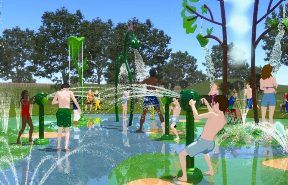 El Paso Development News Details Emerge On Four More Spray Parks Coming To East And West El Paso