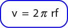 Rumus kecepatan linear pada gerak melingkar