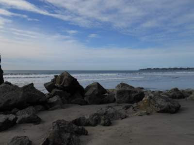 natural simplicity, ocean, beach, rocks, spiritual simplicity