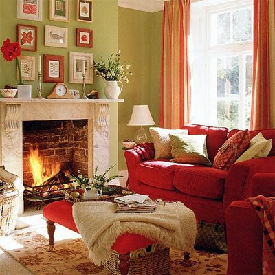 charming light green living room wall color | Theme Design: 11 Living room fireplace design ideas ...