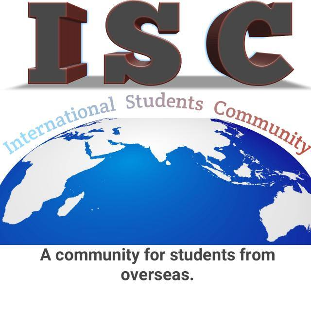 International Students Community. A community for overseas students from around the world