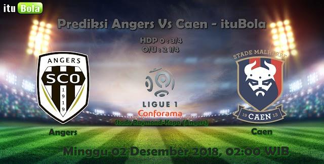 Prediksi Angers Vs Caen - ituBola