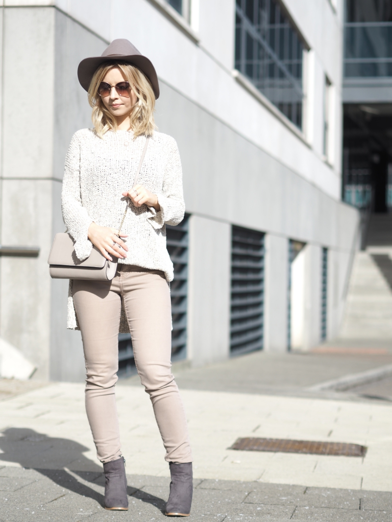 How to style pink jeans spring 2016 fashion trends nudes pinks neutrals