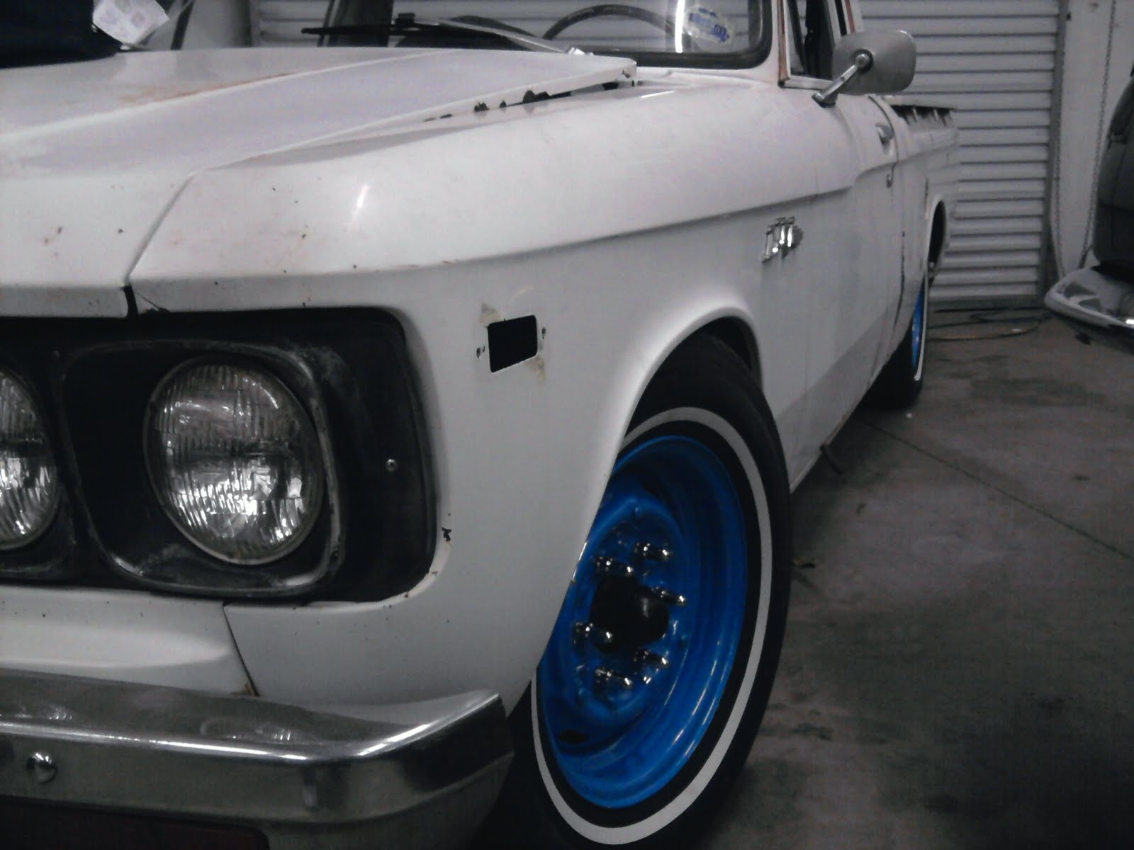 Queen City Speed  77 Chevy Luv 4 3 Swap