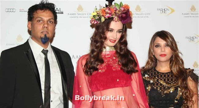 Evelyn Sharma, Bollywood Celebs at India Bridal Fashion Week