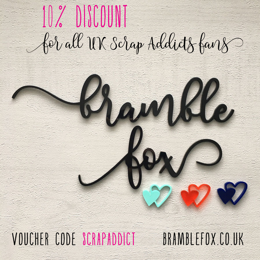 Bramble Fox 10% off