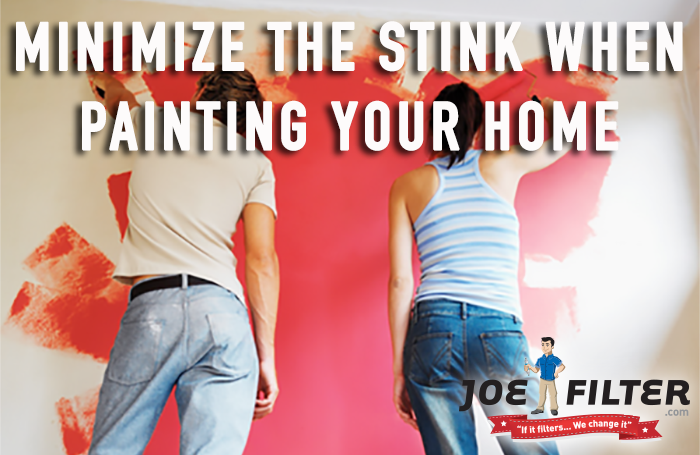 Minimize the Stink When Painting Your Home