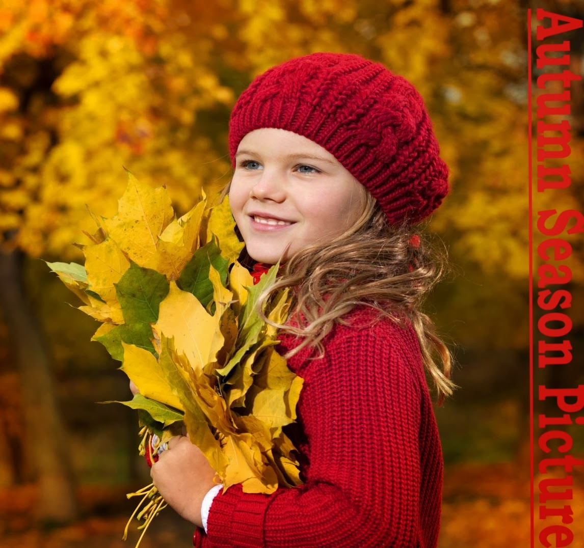 Cute Baby Autumn Wallpapers