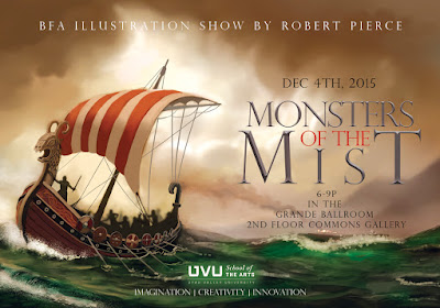 Monsters of the Mist BFA show!!