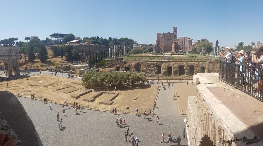 Coliseu e Foro Romano