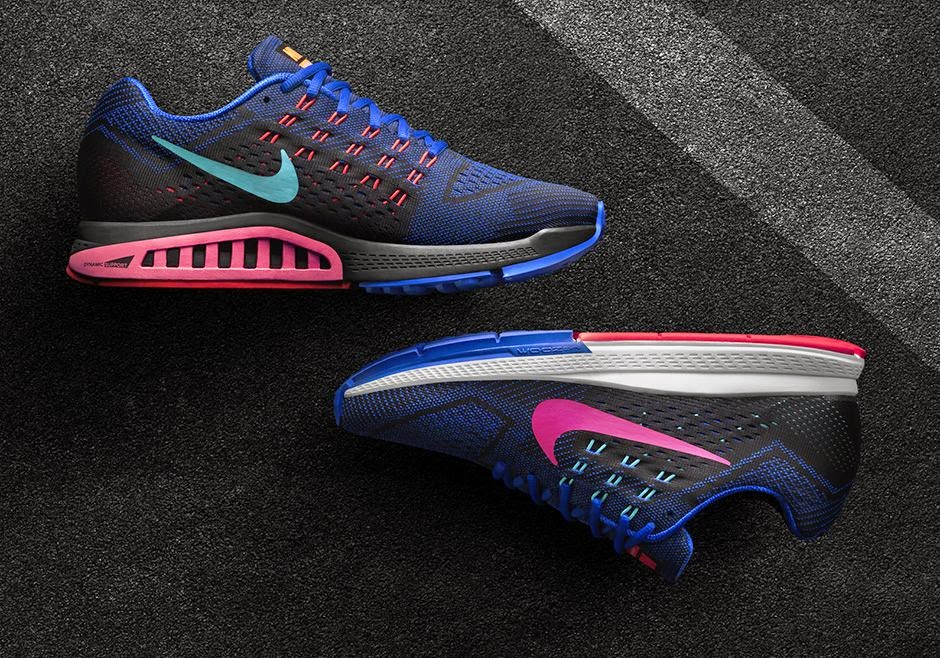 huge selection of d9b06 448a8 Nike Air Zoom Structure 18 - Chaussure de Running pour Femme 683737-600