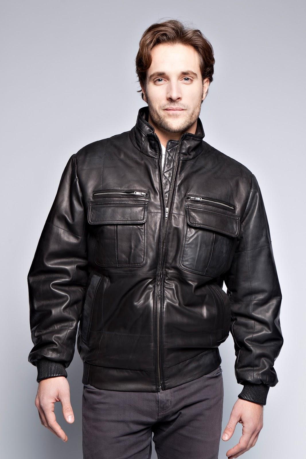 Giovanni leather jacket