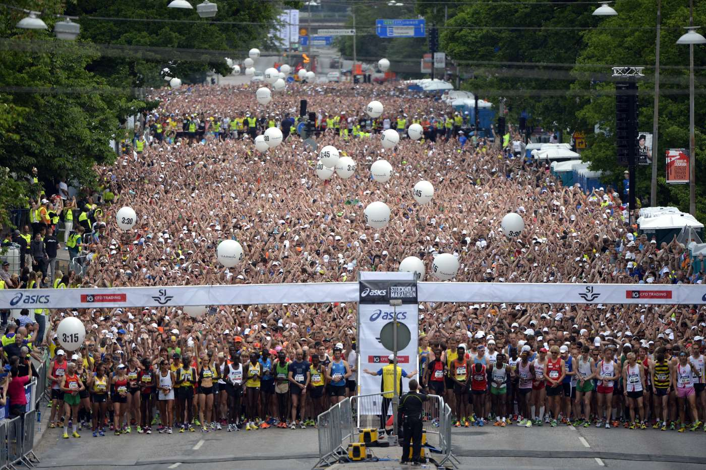 2019 Stockholm Marathon Vinnare Herrar