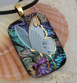 Bijuterii contemporane - fluturi