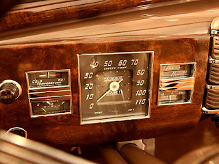 1938 Cadillac Convertible Coupe Speedometer