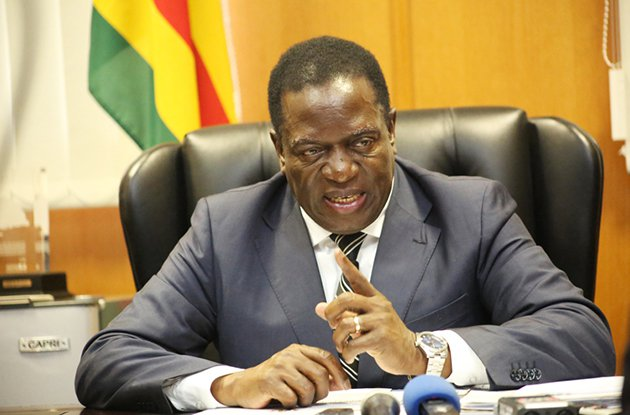 Zimbabwe's Vice President, Emmerson Mnangagwa In Assassination Attempt -- Food Laced With Poison
