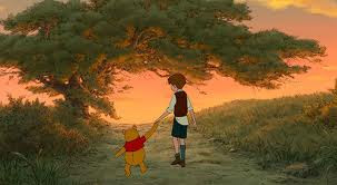 Christopher Robin and Pooh Winnie the Pooh 2011 Disney movie