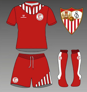 Camiseta roja Sevilla FC