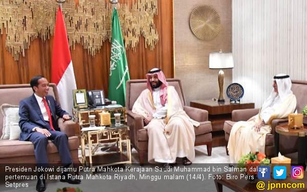 Presiden Jokowi Ajak Arab Saudi Kerjasama Syiarkan Islam Toleran