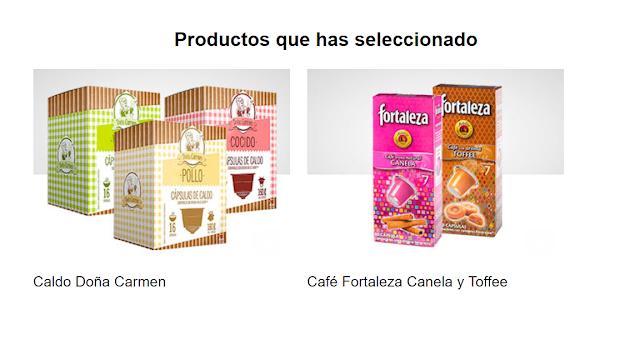 Capsulas Doña Carmen y Café Fortaleza
