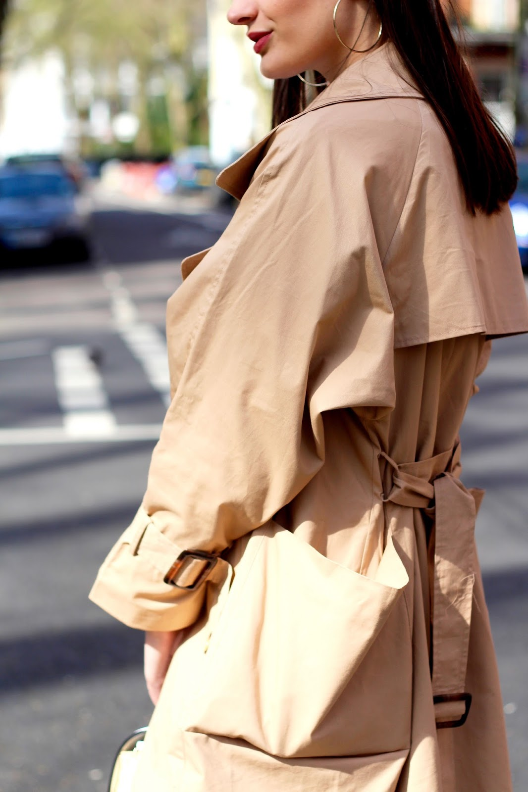 peexo blog spring style trench coat boohoo