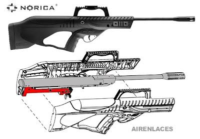 rifle de aire bullpup