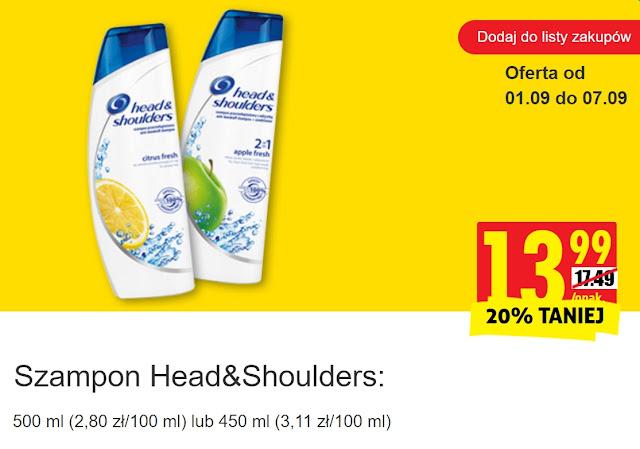 Szampon Head&Shoulders - Bierdonka, promocja