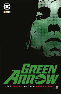 "Cómic: ""Green Arrow"" de Jeff Lemire y Andrea Sorrentino [ECC Ediciones]."