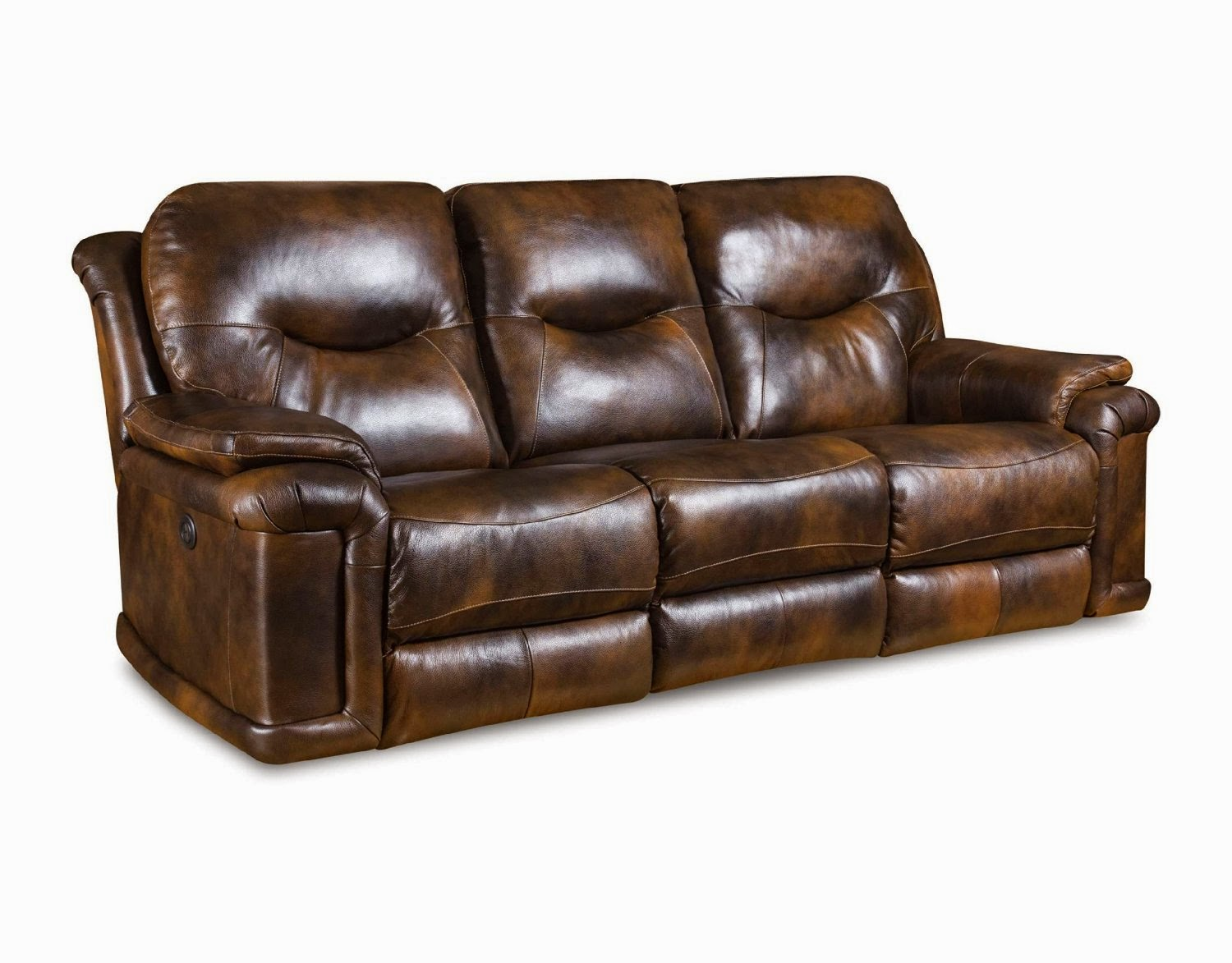 Reclining sofa loveseat and chair sets southern motion for Leather sofa and loveseat set