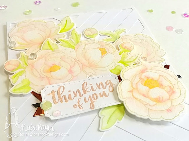 Newton's Nook Designs Peony Blooms Set - Naki Rager