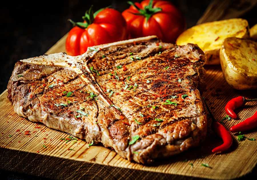 إنتاج شرائح لحم نباتي