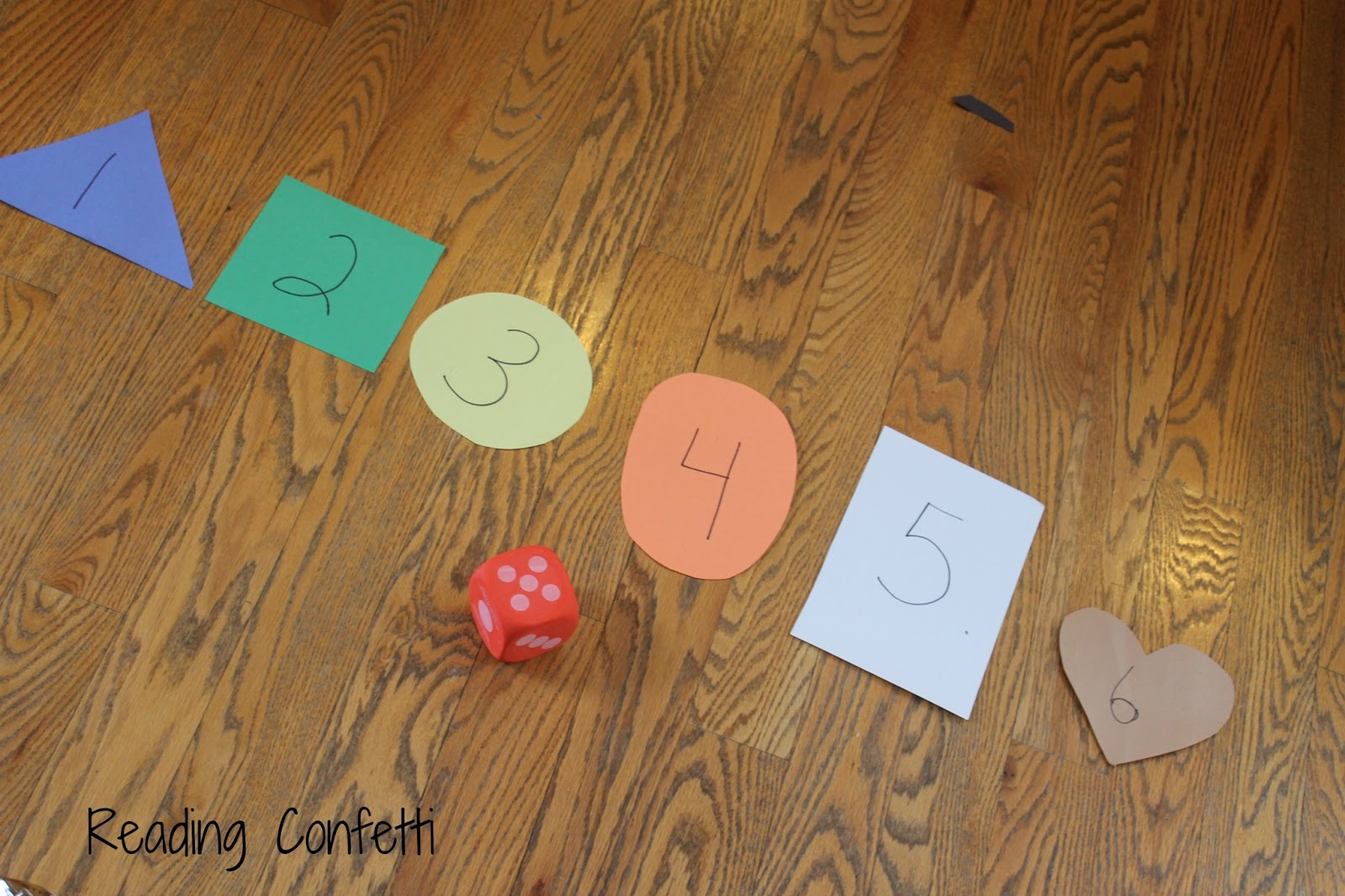 5 Simple Games for Teaching Number Recognition   Reading Confetti 4