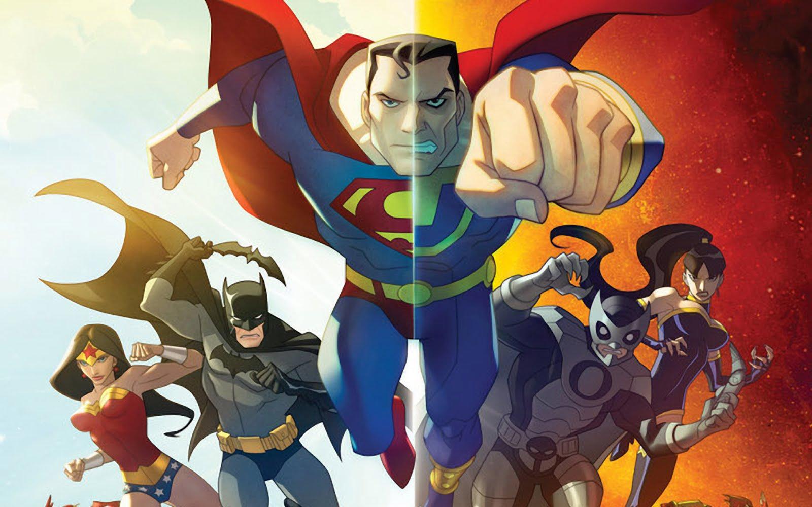 Cartoon Heroes Wallpaper - Cartoon Images