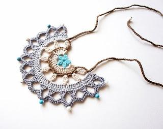 Szydełkowa biżuteria – inspiracje