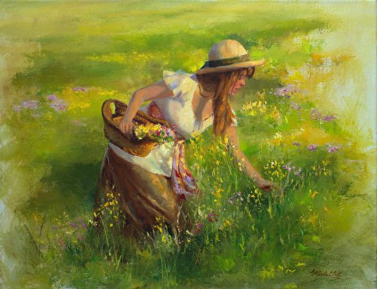 Buquê de Flores Silvestres - Michelle Murray