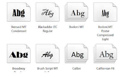 Cara Memasang Font Baru Dari Toko / Store Di Windows 10, Begini Caranya