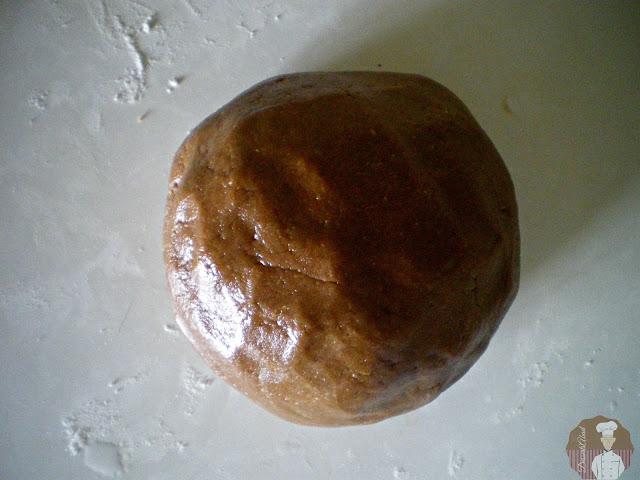 Pastas surtidas con  harina de avena y nocilla : Masa