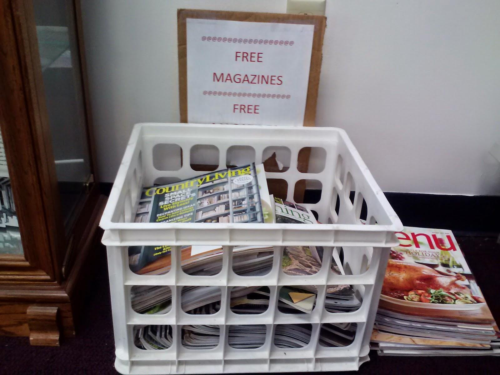 donations magazines