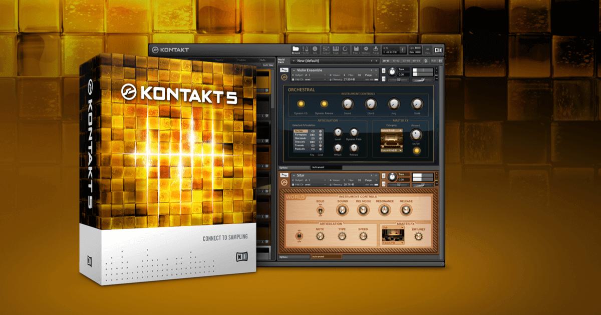 Native Instruments Kontakt 6.0.4 Crack + Keygen