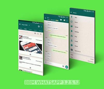 BBM WhatsApp Mod 3.2.5.12