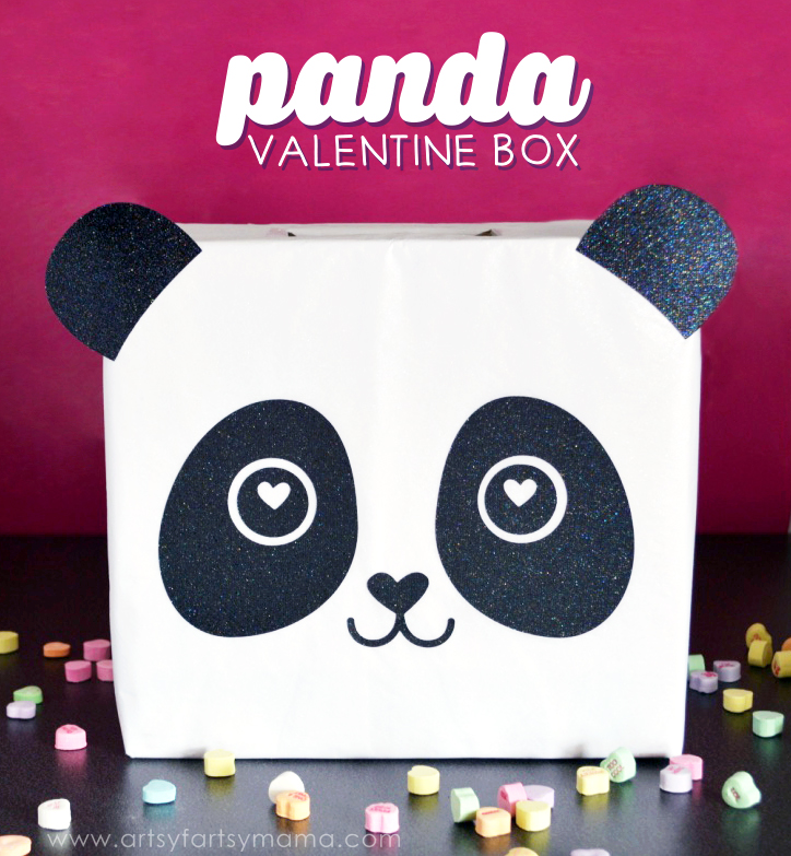 panda valentine card box - Valentine Boxes For Girls