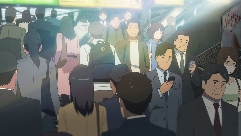 The Last Location Seen In Makoto Shinkais Your Name I Revisited This Time Was Shinjuku Station And Some Of Areas Around It