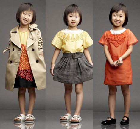 crianças fashions